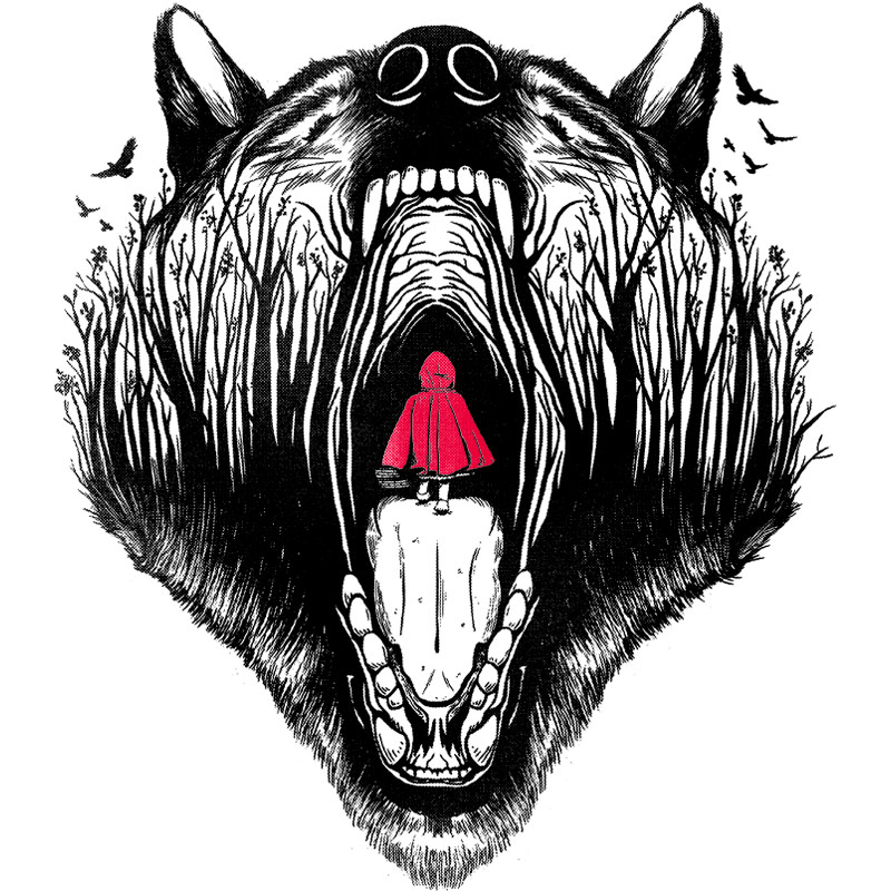 Pampling: Little Red Riding Hood