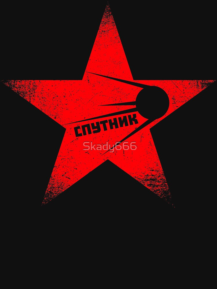 RedBubble: Red Star - Sputnik