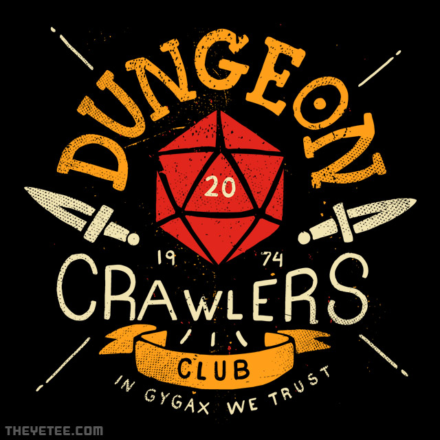 The Yetee: Dungeon Crawlers Club