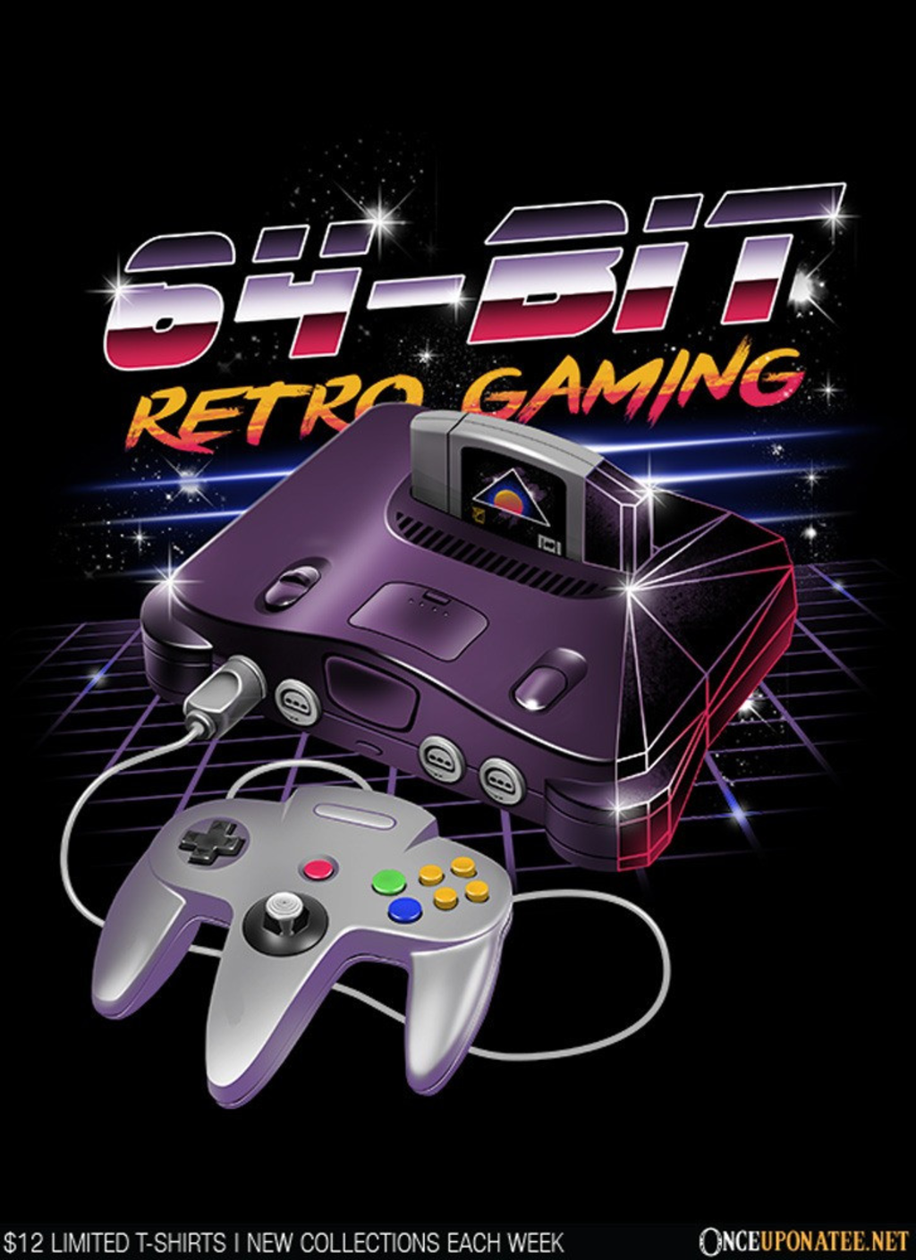 Once Upon a Tee: 64-Bit Retro Gaming
