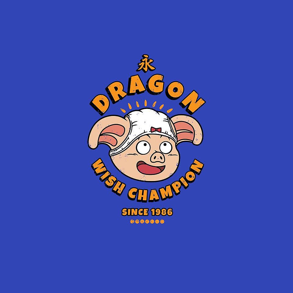 TeeFury: Dragon Wish Champ
