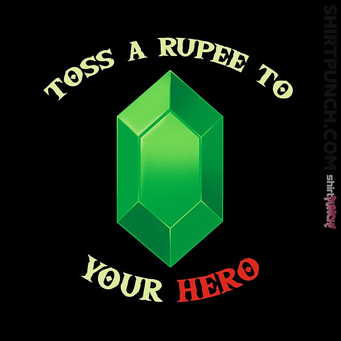 ShirtPunch: Toss A Rupee To Your Hero