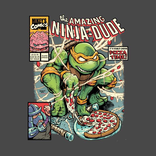 TeePublic: Amazing Ninja Dude