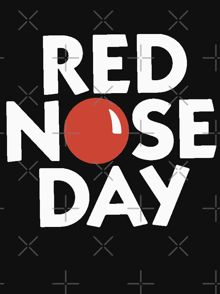 RedBubble: Red Nose Day T shirts 2021 tk maxx red nose day t shirts 2021 RND21 RND 21 Comic