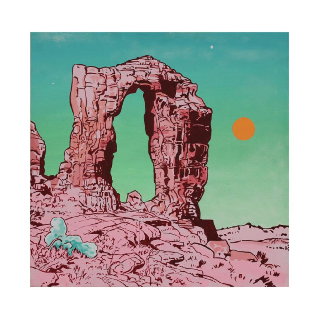 TeePublic: Pink Arches