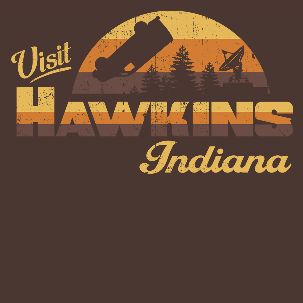 Pop-Up Tee: Visit Hawkins