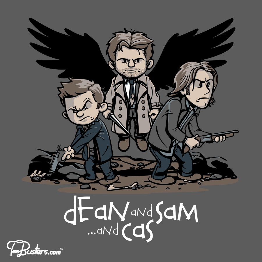 TeeBusters: Dean and Sam... and Cas