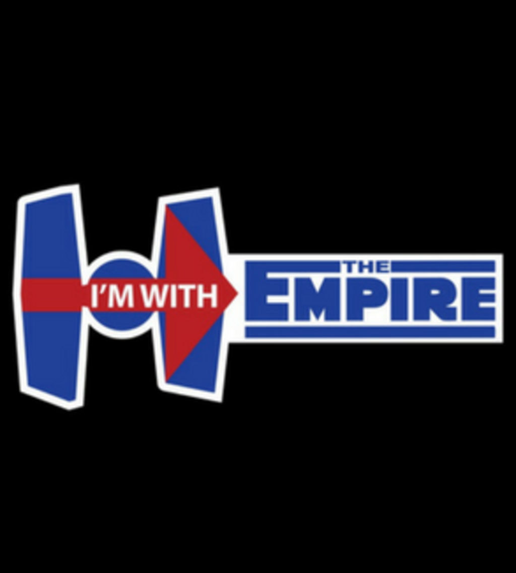 Shirt Battle: I'm With The Empire