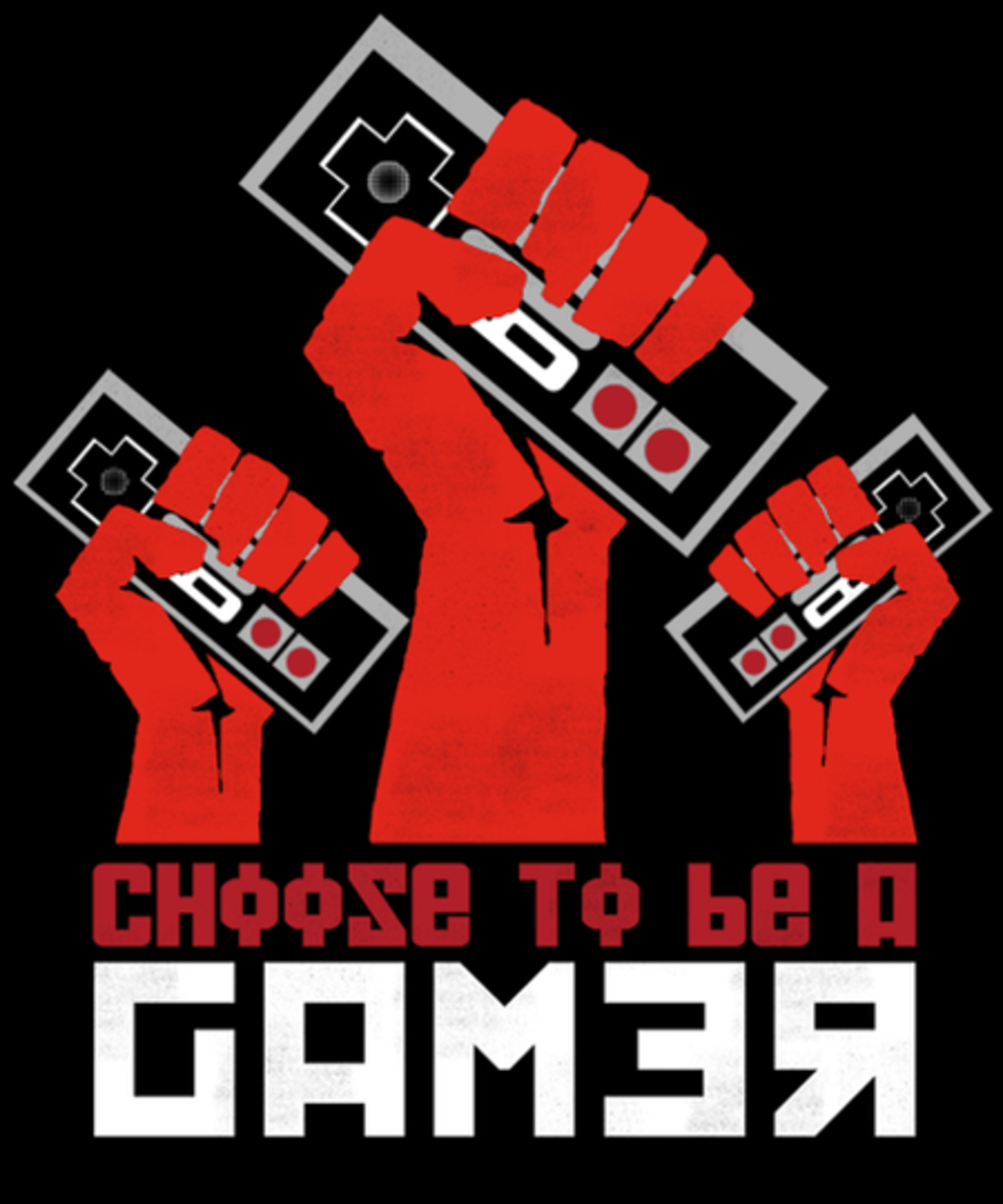 Qwertee: Gamer until the end