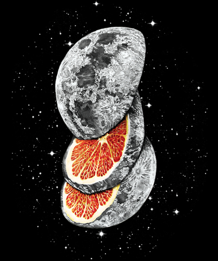 Qwertee: Lunar Fruit