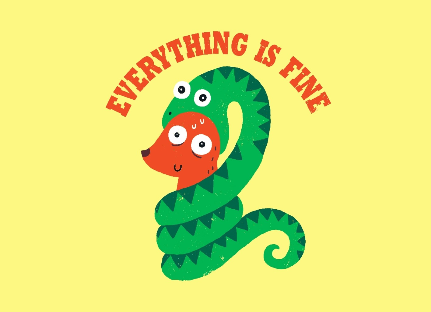 Threadless: Everything Is Fine