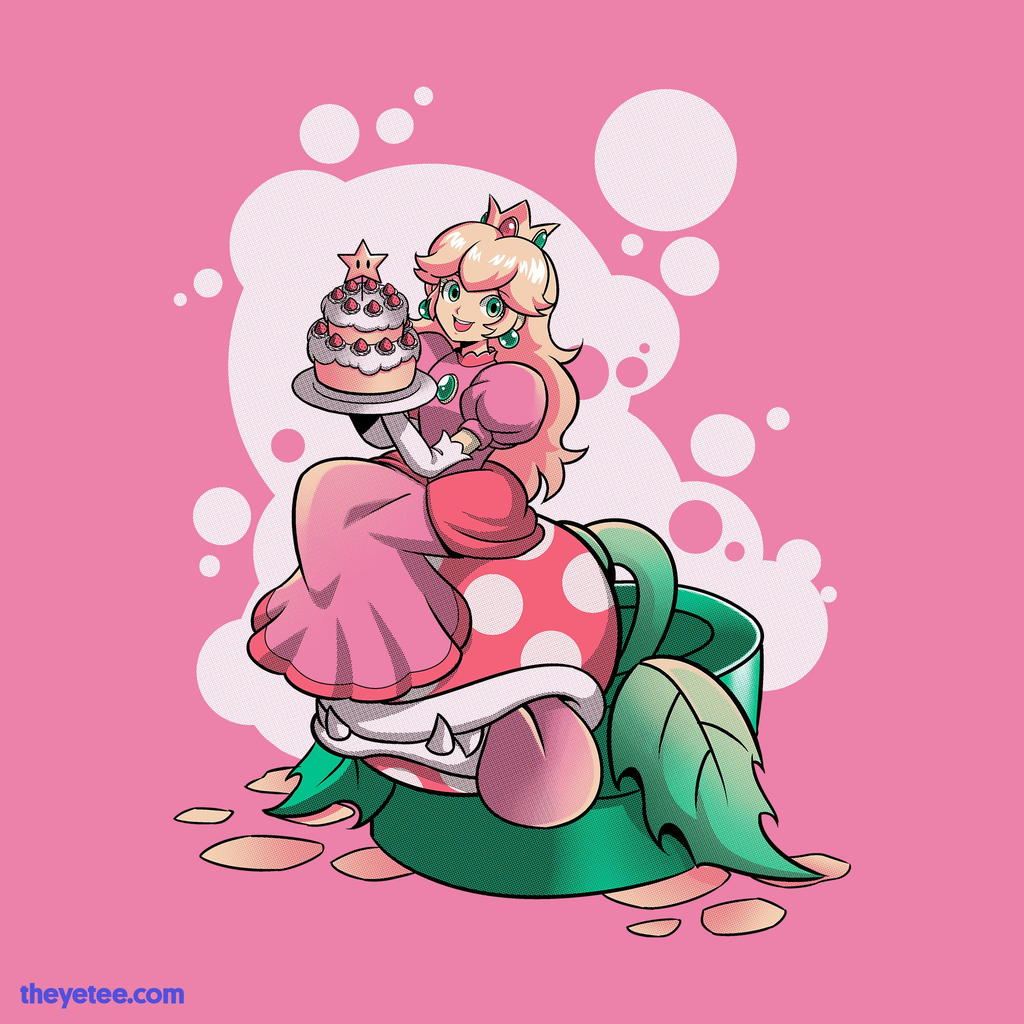 The Yetee: Princess Cake