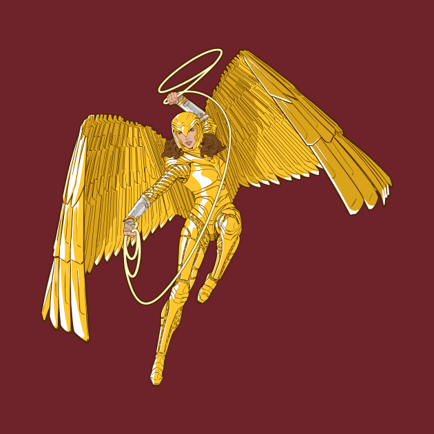 TeePublic: Super Powers Golden Eagle