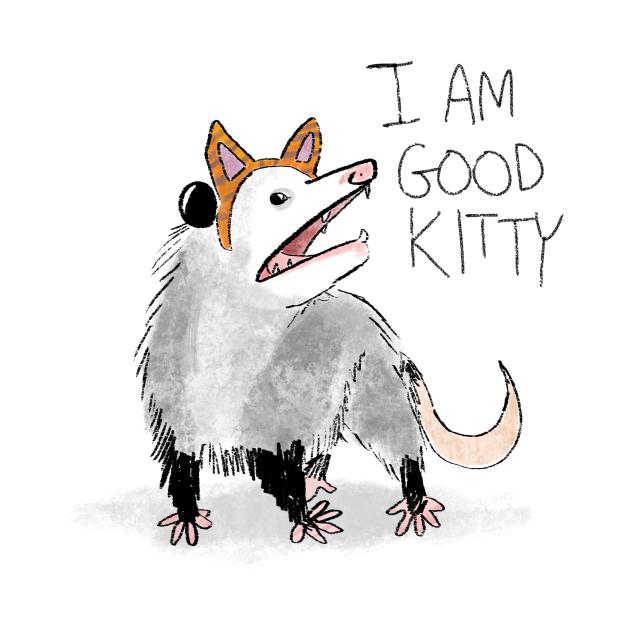 TeePublic: I AM GOOD KITTY
