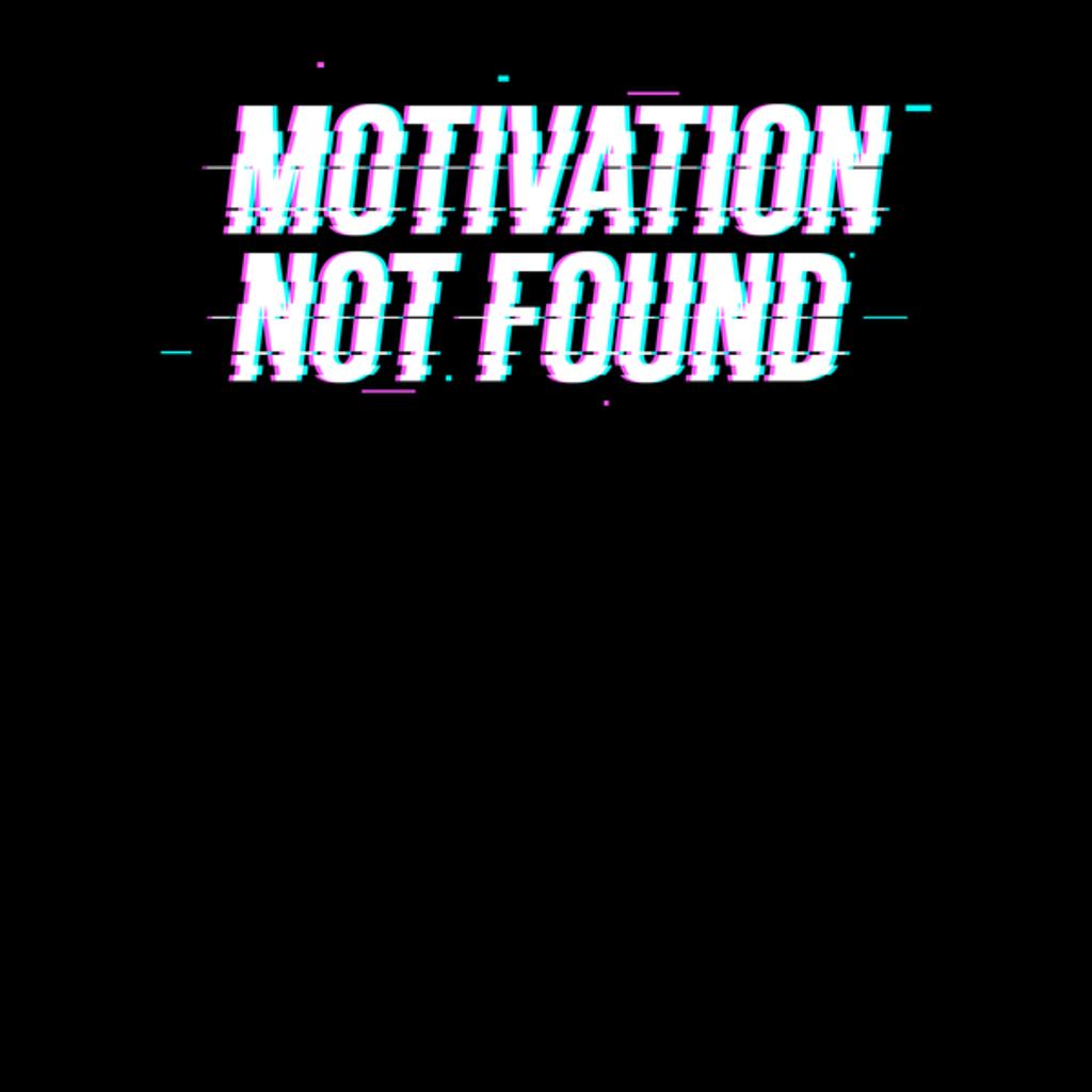 NeatoShop: Motivation not found