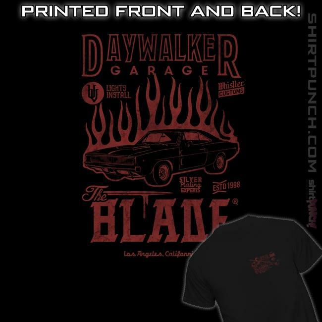 ShirtPunch: Daywalker Garage