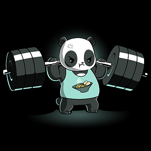 TeeTurtle: Pumped Panda