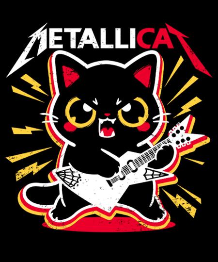 Qwertee: Metallicat
