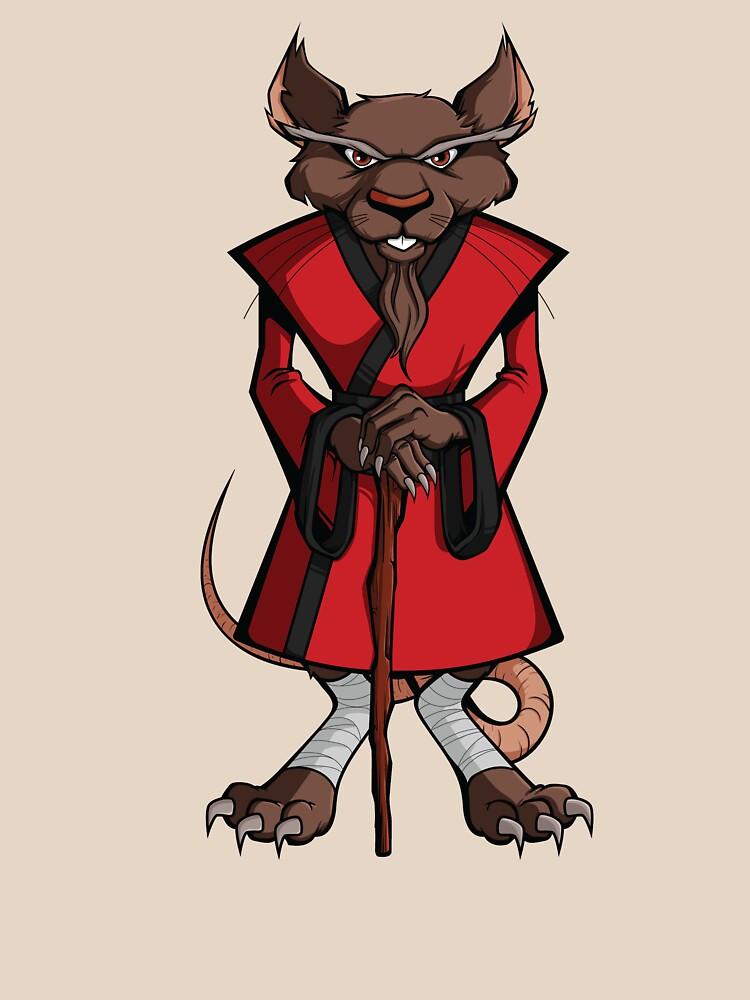 RedBubble: TMNT - Master Splinter
