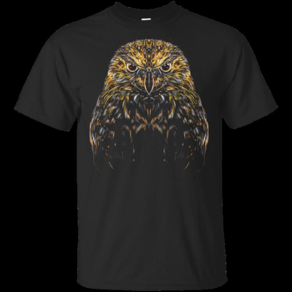 Pop-Up Tee: Ornamental Owl