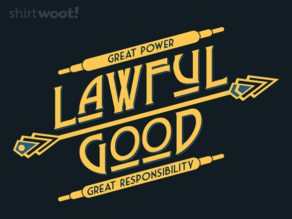 Woot!: Lawful Good - $8.00 + $5 standard shipping