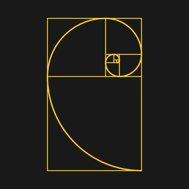 TeePublic: Golden Ratio Spiral Fibonacci Spiral