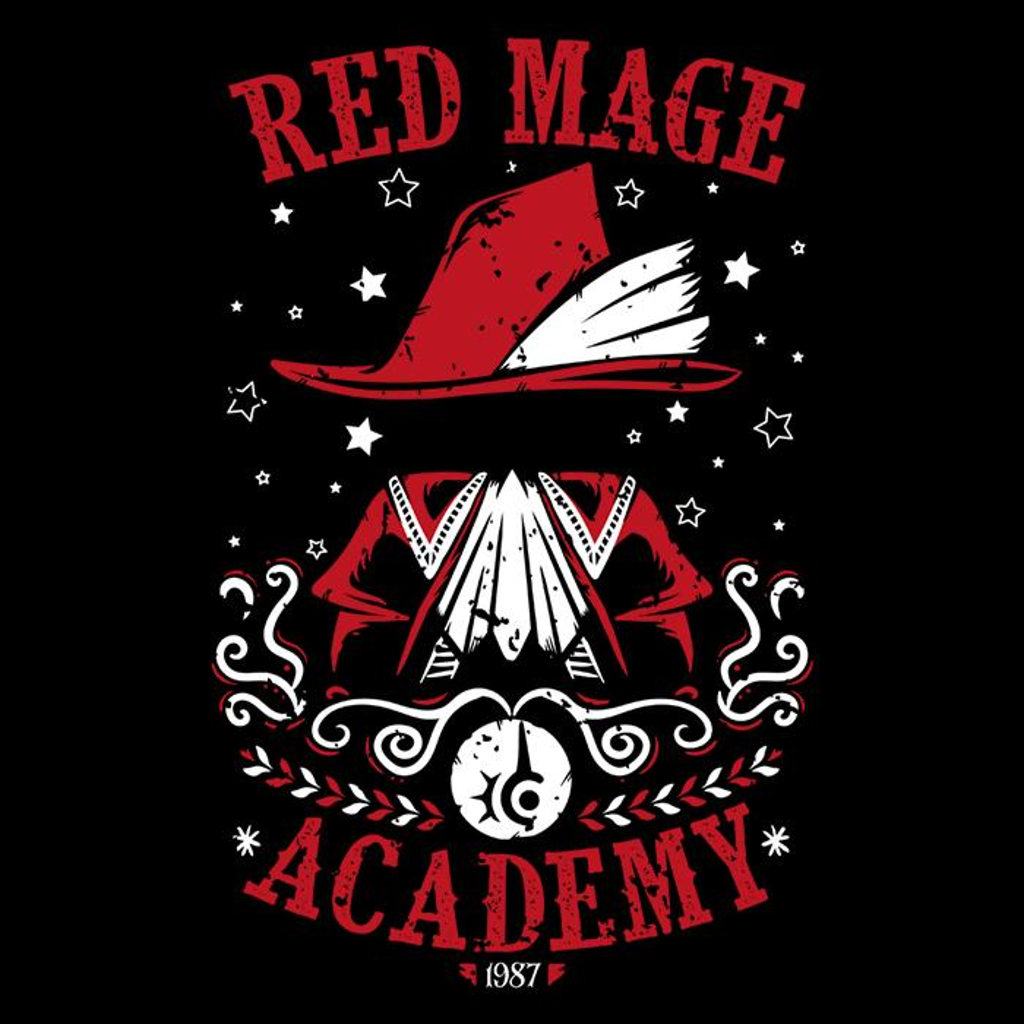 Once Upon a Tee: Red Mage Academy