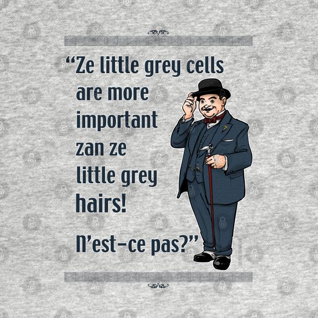 TeePublic: Little Grey Cells