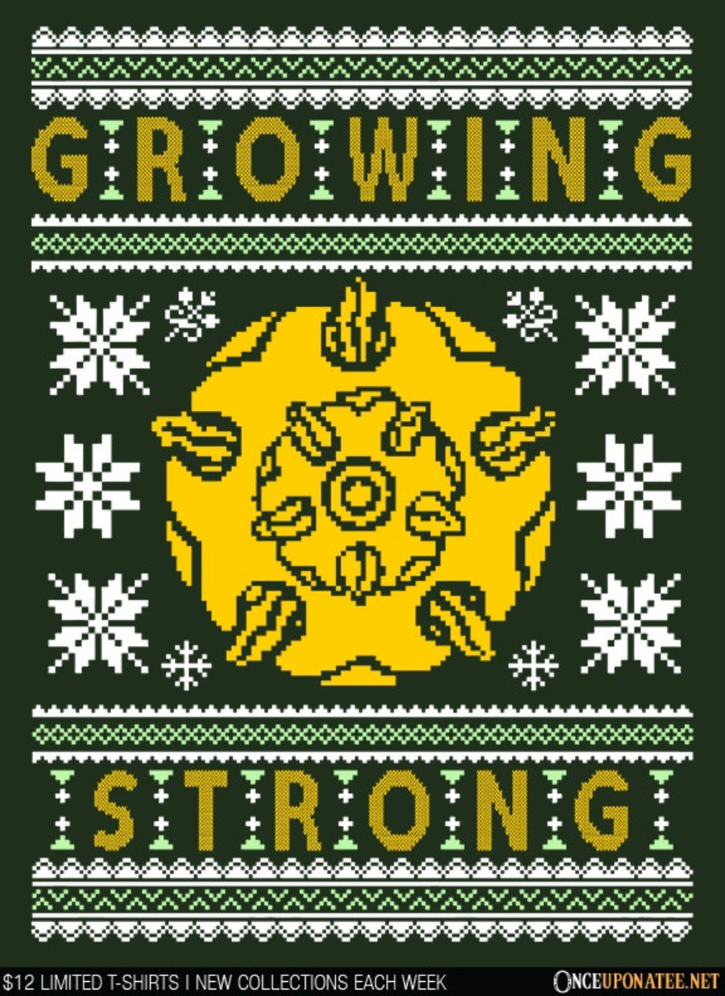 Once Upon a Tee: The Holidays are Growing Strong