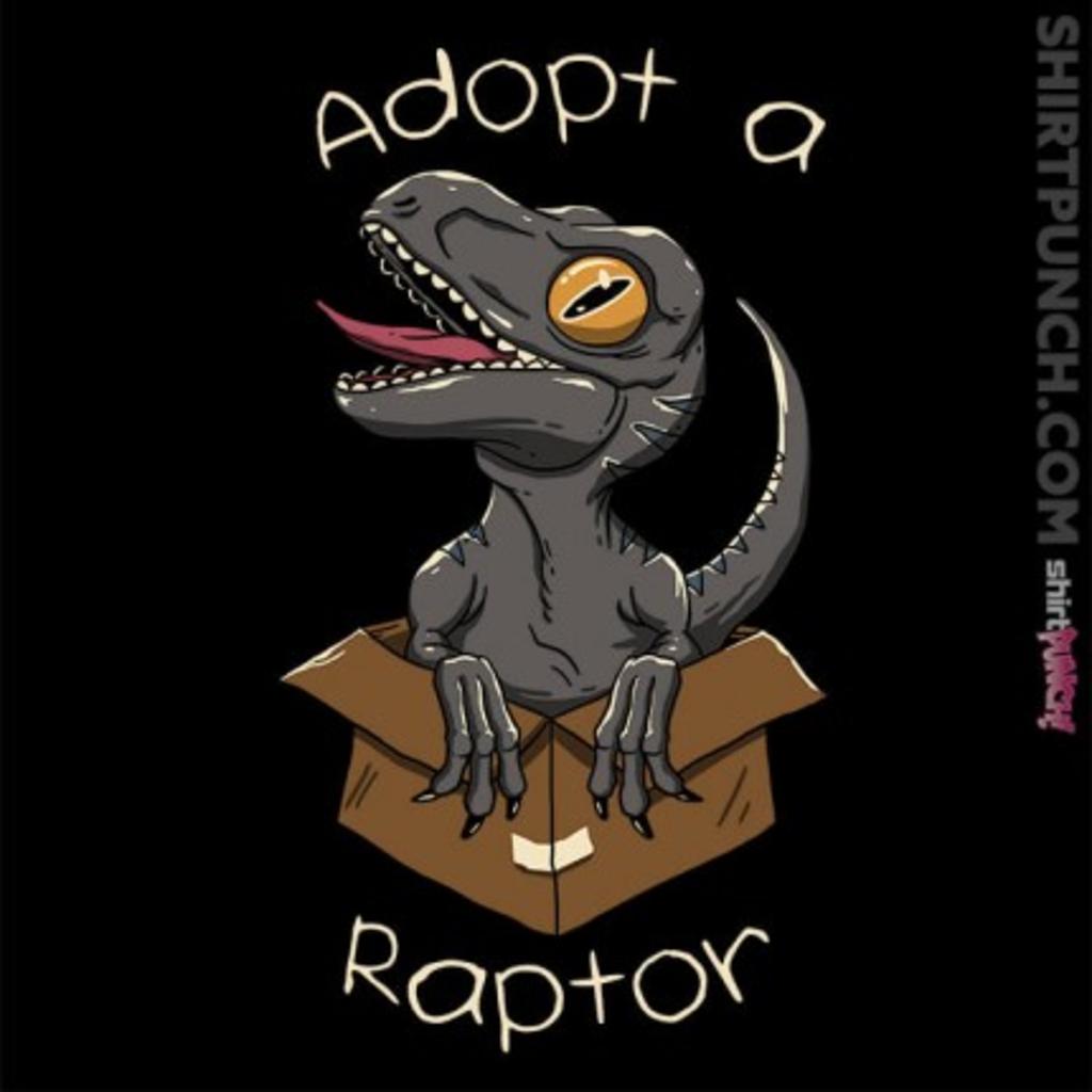 ShirtPunch: Adopt a Raptor