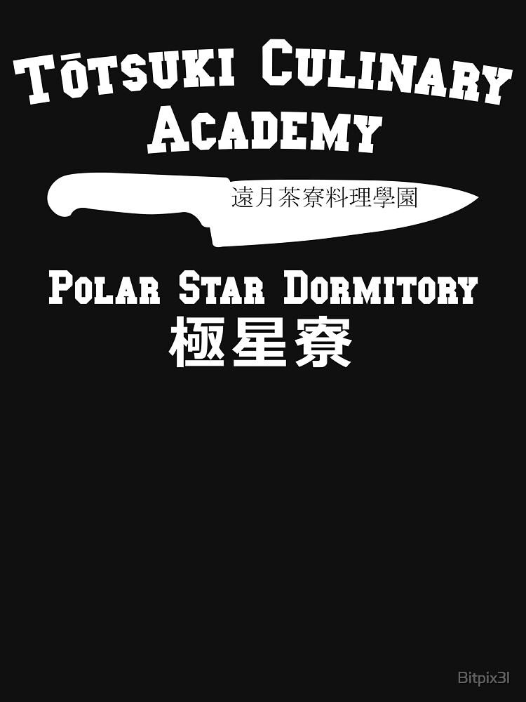 RedBubble: Totsuki Culinary Academy - Polar Star Dormitory - White
