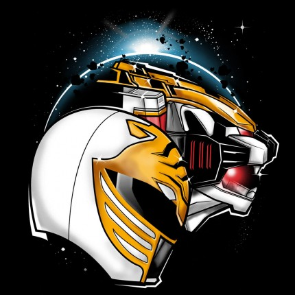 ShirtPunch: White Ranger