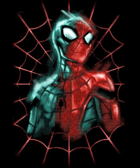 Qwertee: Spider