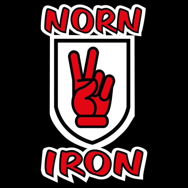 NeatoShop: Norn Iron / Northern Ireland Red Hand of Ulster - V Sign