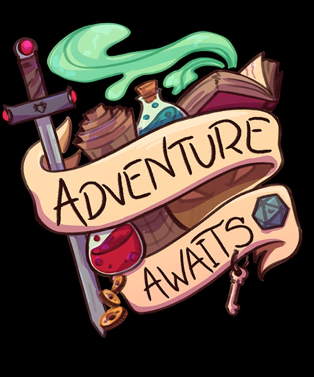 Qwertee: Adventure Awaits