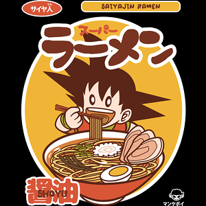 Design by Humans: Saiyajin Ramen