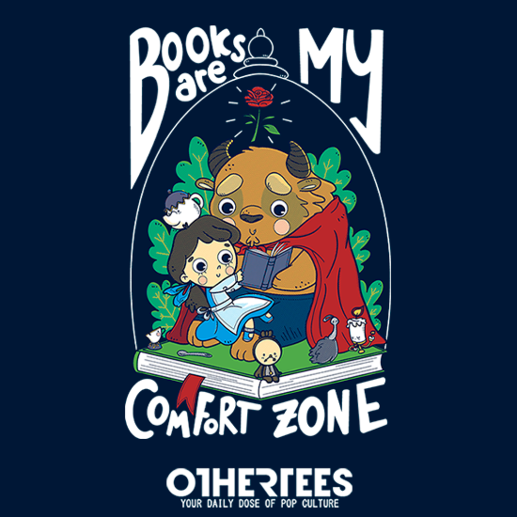 OtherTees: Books Are my Comfort Zone