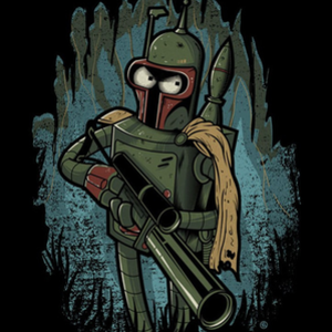 Once Upon a Tee: Bender Fett