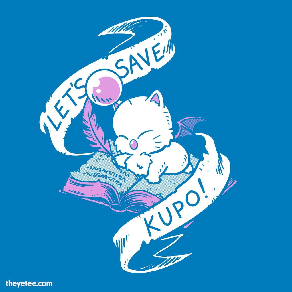 The Yetee: Let's Save, Kupo!