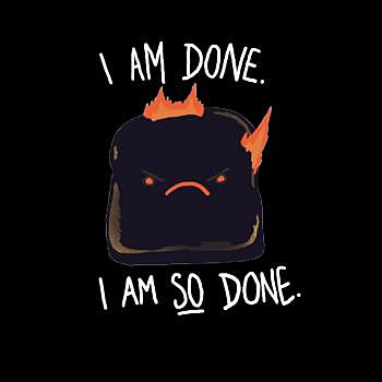BustedTees: Toast T-Shirt