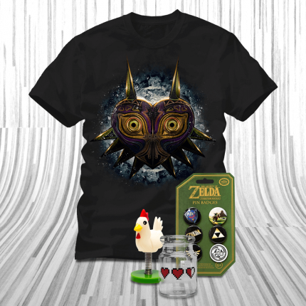 ShirtPunch: Bring Home Zelda for the Holidays Bundle