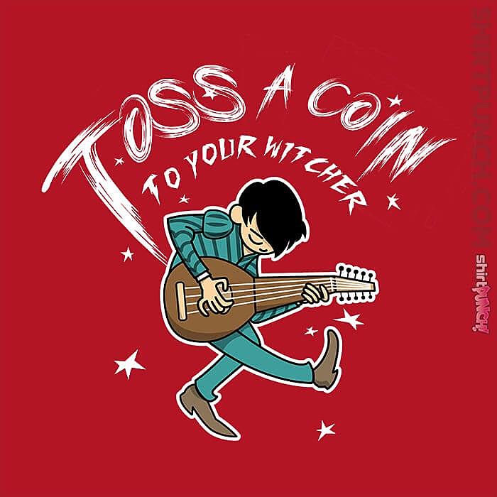 ShirtPunch: Toss A Coin Pilgrim