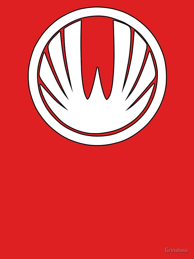 RedBubble: Red Wind Ranger - Ninja Storm