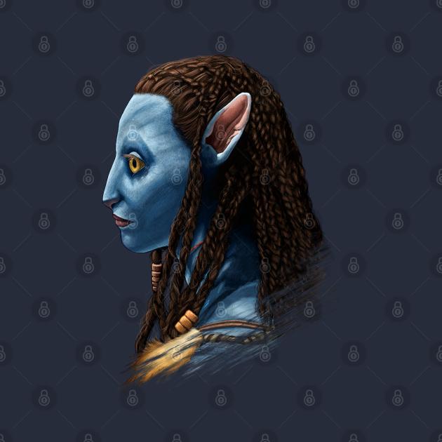 TeePublic: Avatar: Neytiri