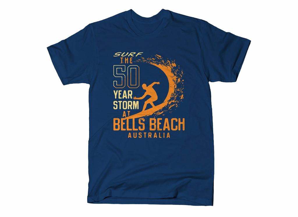 SnorgTees: 50 Year Storm At Bells Beach