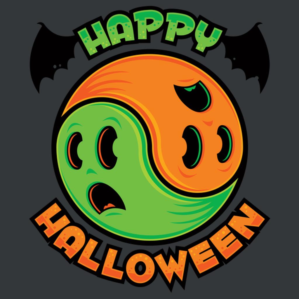NeatoShop: Happy Halloween Ghost Yin-Yang