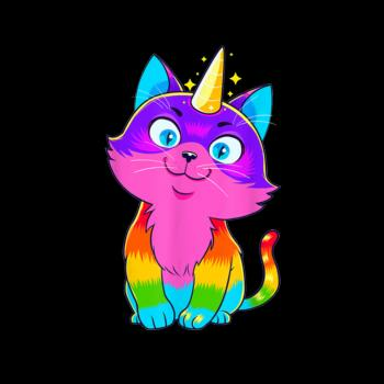 BustedTees: Caticorn Kids Shirt