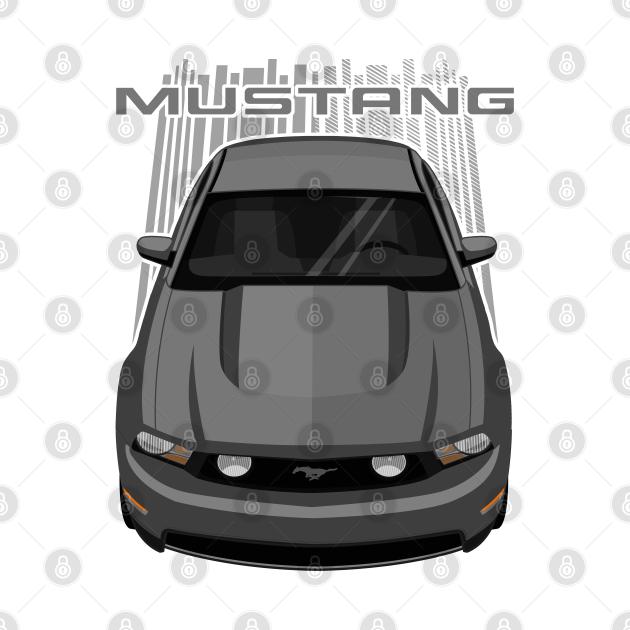 TeePublic: Mustang GT 2010-2012 - Grey