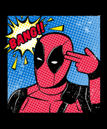 Qwertee: Bang POP ART