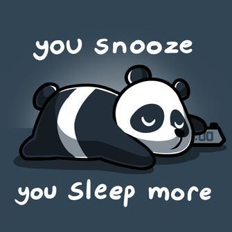 TeeTurtle: You Snooze, You Sleep More